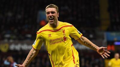 El delantero inglés anotó el gol que sentenció el triunfo del Liverpool.