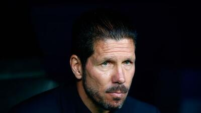 El entrenador del Atlético de Madrid se refirió al choque contra el Bilbao.