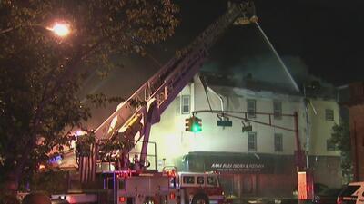 Declaran muerta a una mujer durante el incendio en un edificio de Nueva Jersey