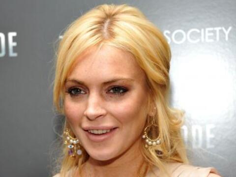 Después de que Lindsay Lohan fue capturada por las cámaras...