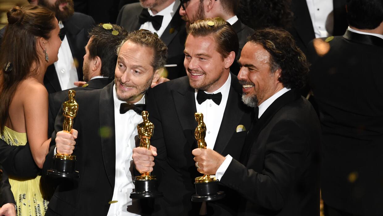 Los mexicanos Iñárritu y Lubezki hacen historia en los Oscar oscars4.jpg