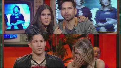 El momento que Alessandra Villegas y Chino pierden la seriedad