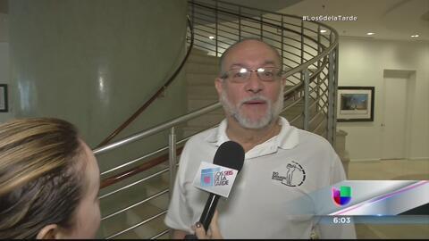 Luis Pabón Roca pasó tremendo susto