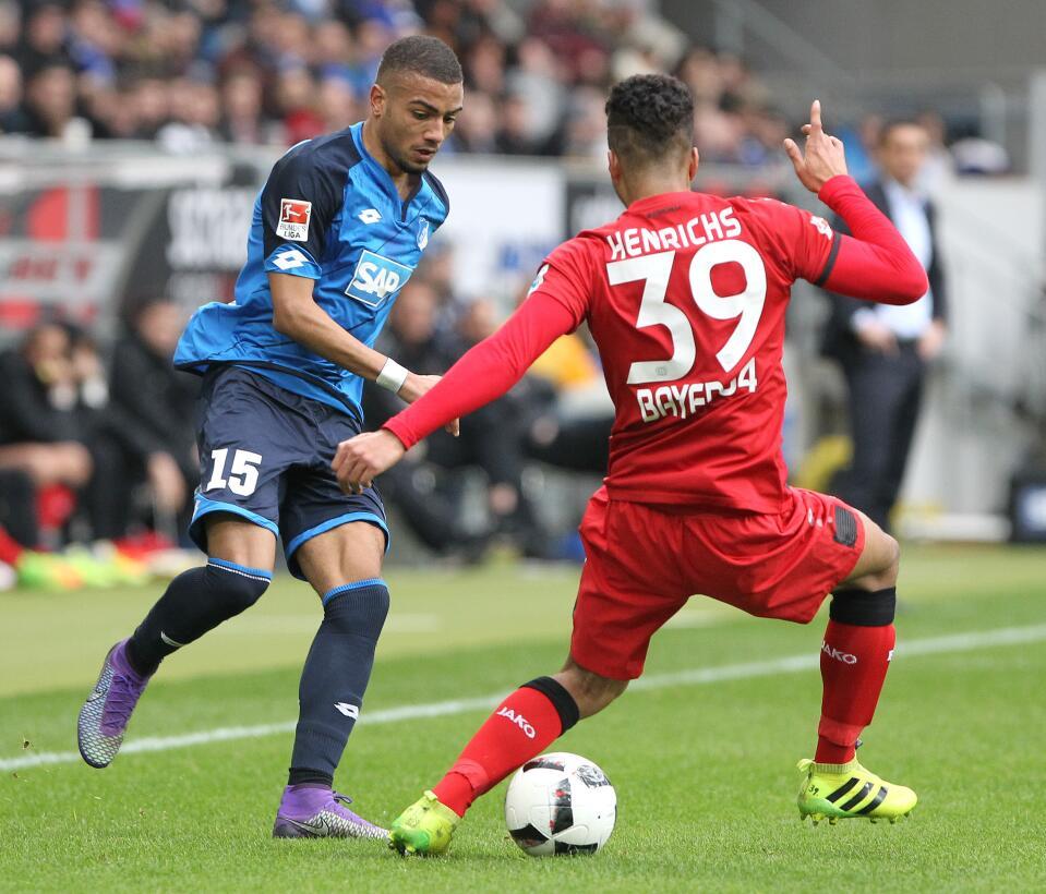 Hoffenheim celebró a costa de Bayer Leverkusen en la Bundesliga GettyIma...