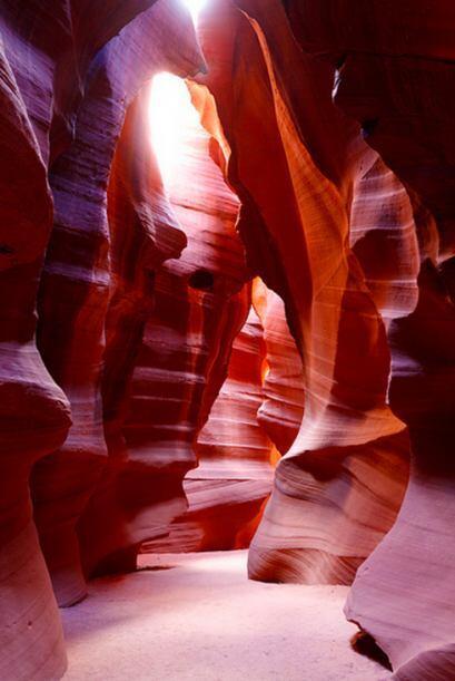 El cañón Antílope en Arizona, Estados Unidos
