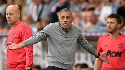 Mourinho cae eliminado de la Copa y tiene las horas contadas con el Manchester United