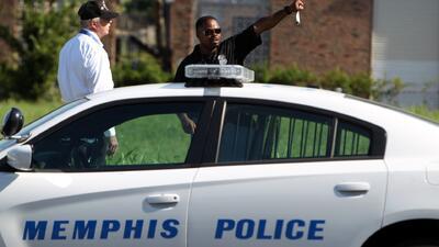 Detienen a sospechoso de matar a policía de Memphis