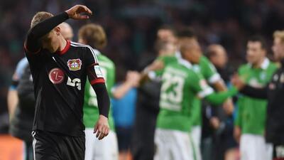 Leverkusen con esta derrota quedó en la quinta posición,por detrás del...