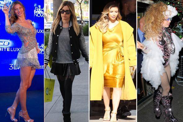 Hemos estado analizando sus 'looks', por ello, estas famosas han sido má...