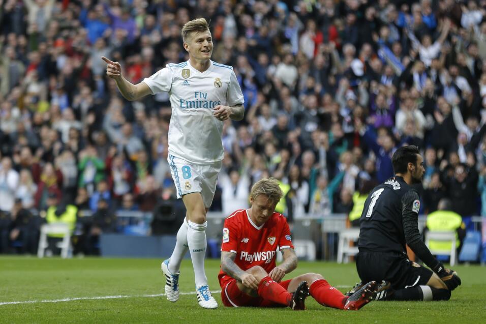 2. Toni Kroos (Real Madrid / Alemania) - 90 puntos