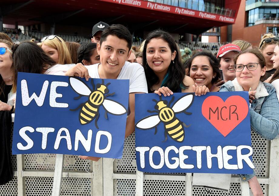 Concierto One Love Manchester