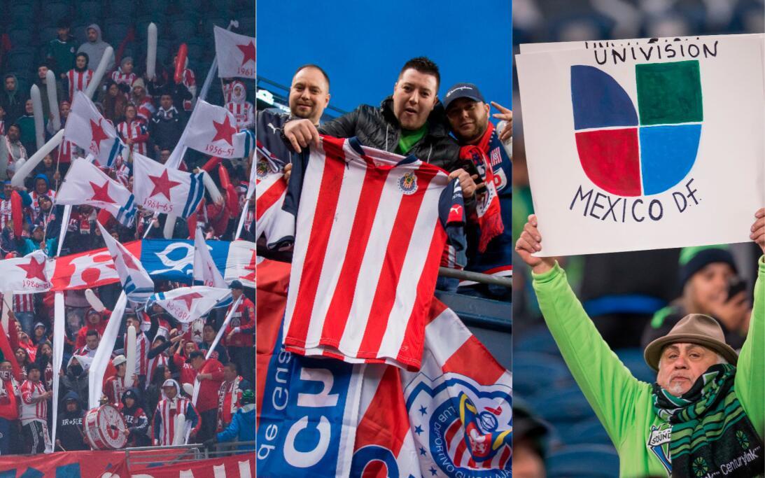 Aficionados de Chivas 'compitieron' en Seattle ante los Sounders chivas-...
