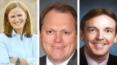 Estos candidatos se disputarán la nominación republicana para gobernador...