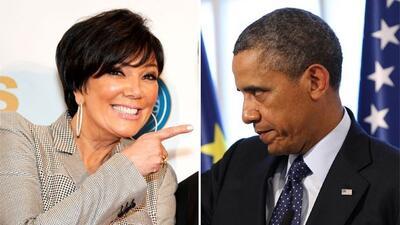 La matriarca del clan Kardashian no está nada contenta con el Presidente.