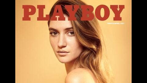 Con Elizabeth Elam en la portada, vuelven los desnudos a la revista Playboy