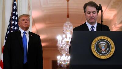 """""""Me siento profundamente honrado"""": Kavanaugh tras ser el elegido de Trump para magistrado de la Corte Suprema"""