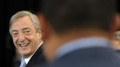 Néstor Kirchner en una foto de archivo