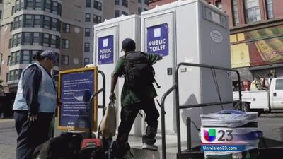 Facilitarán baños públicos para los desamparados
