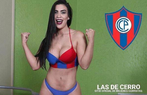 Ana Laura Chamorro es la sensual paraguaya que le compite a Larissa Riqu...