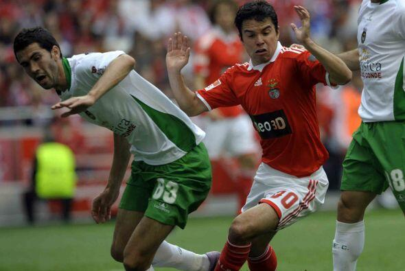 Se disputó la última jornada de la Liga portuguesa y el Benfica, que enf...