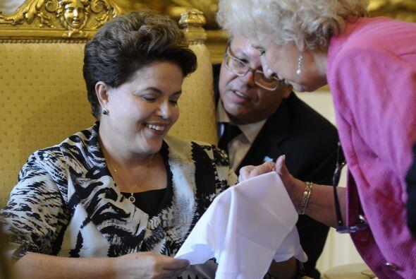 Hebe de Bonafini,  líder de Madres de Plaza de Mayo se refirió al encuen...