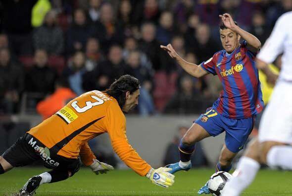 Pedro volvió a ser decisivo. El canterano hizo dos goles.