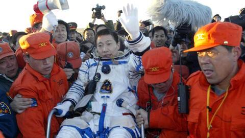 El primer astronauta chino habla de los extraños sonidos que escuchó en...