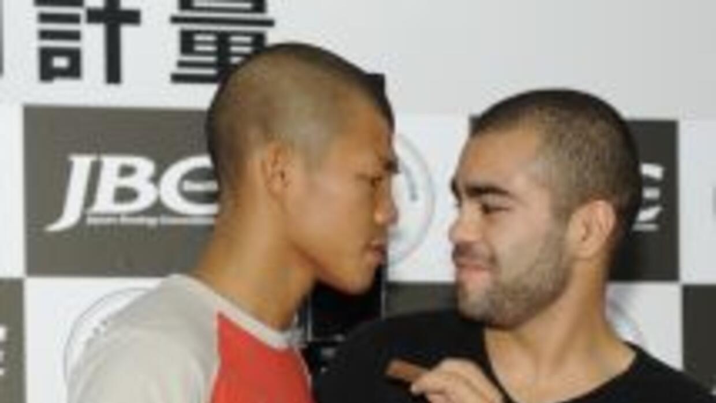 Koki Kameda y David De la Mora se varán las caras en Japón por el título...