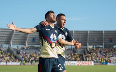 Así festejó su gol Oribe Peralta, el gol que le dio tres p...