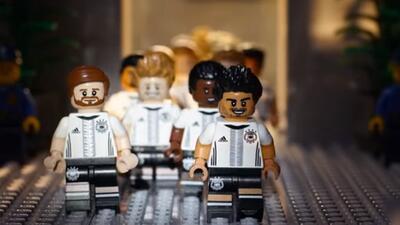 Alemania será inmortalizada en Lego