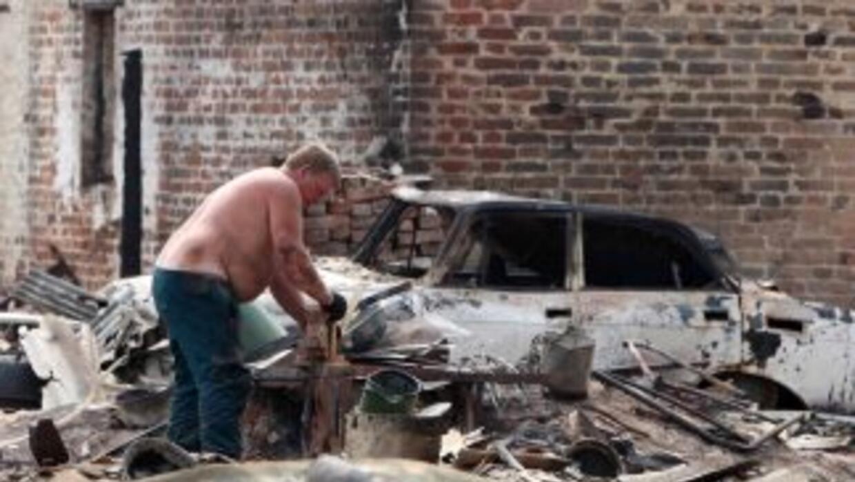 Nuevos incendios forestales en Rusia dejaron un saldo preliminar de cinc...