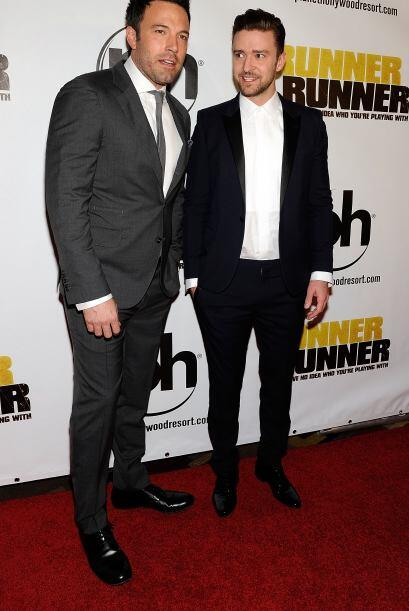 Ben Affleck y Justin Timberlake comparten créditos en esta cinta.