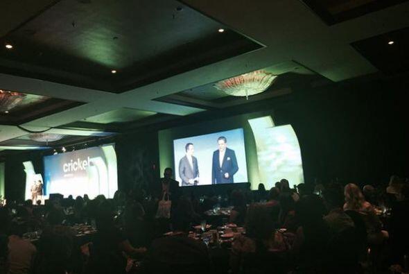 El presentador chileno recibió el premio Latinovator durante un almuerzo...