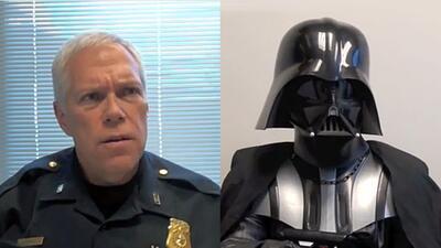 Dart Vader quiere ser policía en Fort Worth
