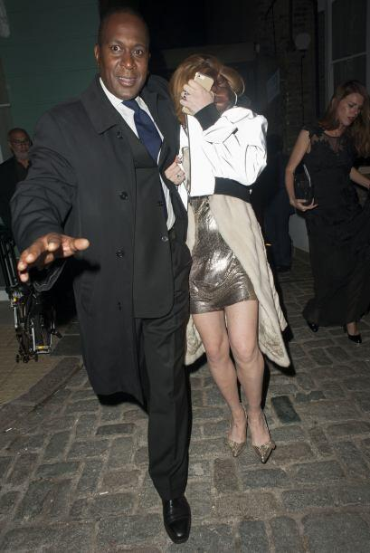 Lindsay Lohan participó en la gala de los premios GQ británicos a los Ho...