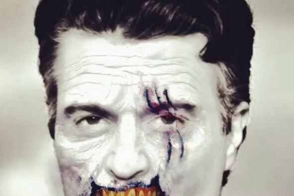 ¡No se asusten!, Jaime Camil está probando su disfraz para Halloween.