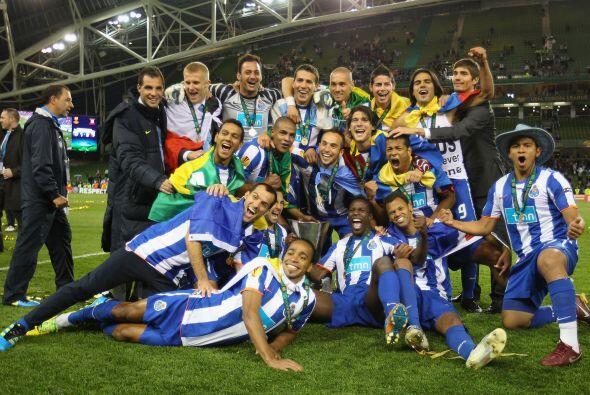 Oporto, el justo campeón de la Liga Europa en su edición 2011.