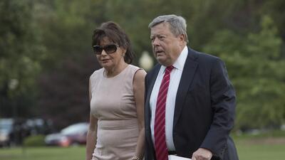 Viktor y Amalija Knavs, los padres de la primera dama de EEUU Melania Tr...