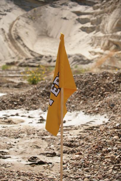 Una vez que los cuatro banderines fueran recolectados por los Goldschmid...