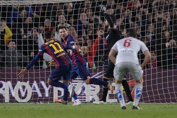 Por el contrario, fue el Barcelona el que logró aumentar la ventaja en e...