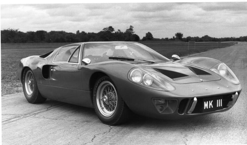 Ford v. Ferrari: La enemistad que creó una leyenda 1967-GT40-Mark-III-st...