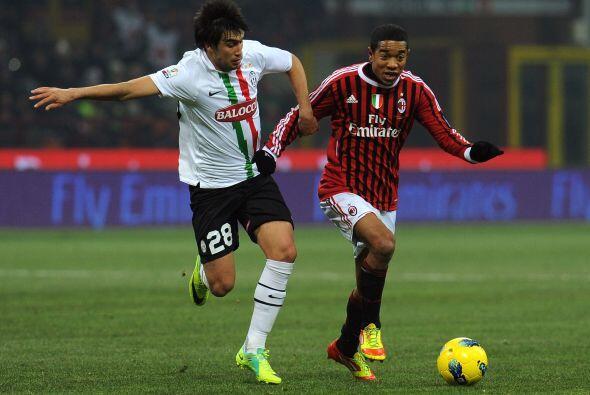 Milan intentó llegar al empate pero no pudo.
