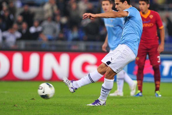 La Roma ganaba pero Hernanes marcó el empate de penalti y eso sirvió par...