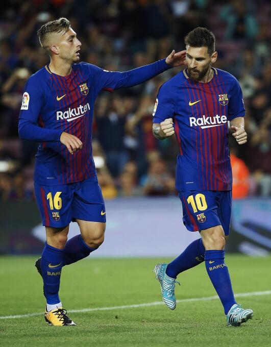 Faena de Messi en la goleada 6-1 del Barcelona sobre Eibar 6364145725266...