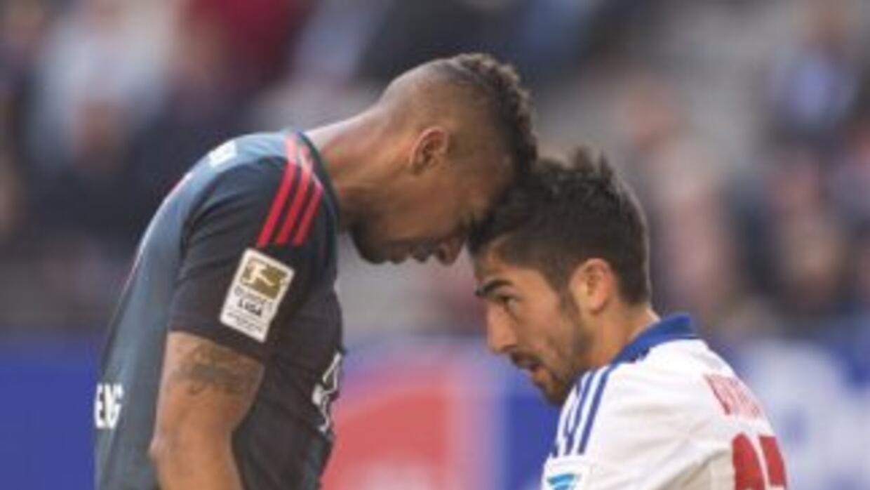 """El Bayern superó a Hamburg y lo envió al """"repechaje"""" por descenso."""