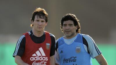 Diego Armando Maradona/ Lionel Messi
