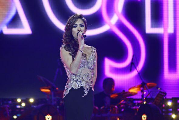 La siguiente finalista en cantar fue Virginia Stille.