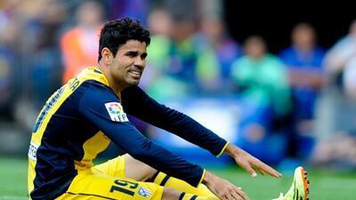 Costa salió de cambio en el partido ante Barcelona y prendió las alarmas...
