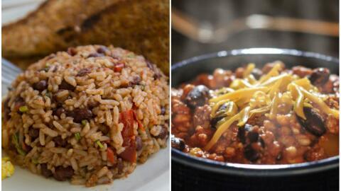 Gallo pinto vs. Chili con carne