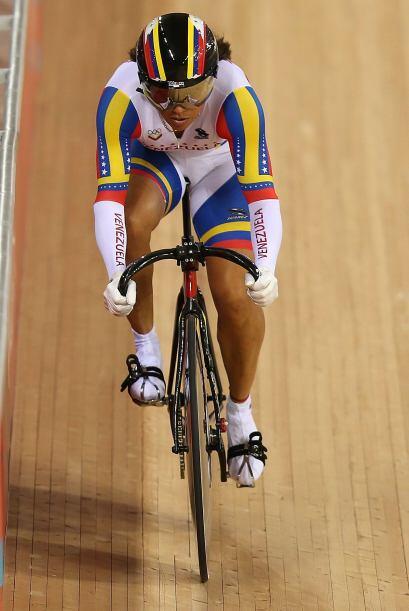 La ciclista especialista en pruebas de pista, Daniela Larreal (@Daniela...